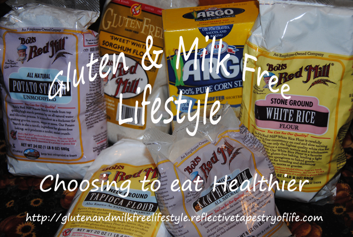 Gluten and Milk Free flour mix using the other products you might already have on hand. Laura of Gluten and Milk Free Lifestyle www.glutenandmilkfreelifestyle.reflectivetapestryoflife.com