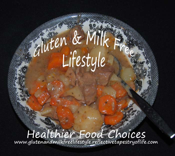 Welcome Home Gluten and Milk Free Beef Stew After adjusting a few ingredients, changing things from how I used to make this, I created a stew that came out tasty and thick like a stew should be. ENJOY!!  Laura of Gluten and Milk Free Lifestyle www.glutenandmilkdfreelifestyle.reflectivetapestryoflife.com