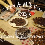 Making Gluten and Milk free sweet treats for the holidays to enjoy and share!! Laura of Gluten and Milk Free Lifestyle